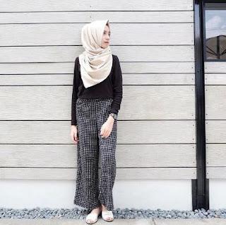 gaya hijab casual terbaru remaja