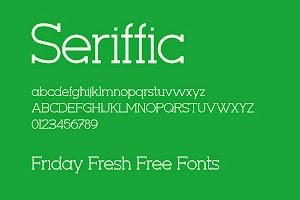 Ücretsiz Font indir: Serific