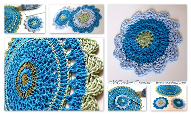 free crochet patterns, how to crochet, coasters, doilies, home decore,