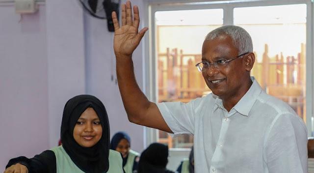Oposisi Kalahkan Petahana di Pilpres Maladewa