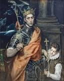 Lodewijk de heilige, schilderij El Greco