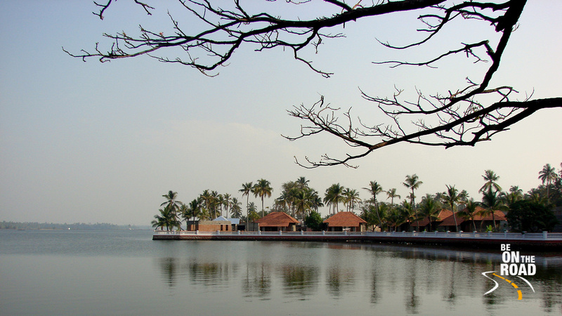 A typical Kerala style Ayurveda campus by the backwaters