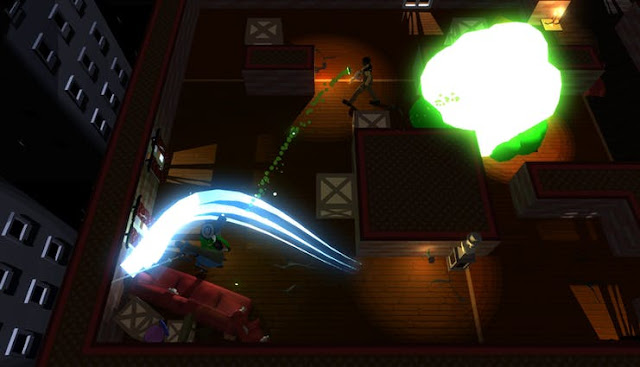 A hide-and-seek shooter where the maps are covered in darkness and light is your enemy, as 4 players compete in a deathmatch to be the best!….