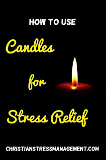 How to use candles for stress relief
