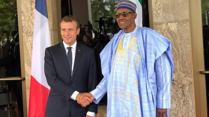 French president Macron tells Buhari to use culture to empower youth in fight against Boko Haram