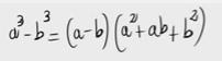 76.Demostración de la fórmula para la resta de cubos