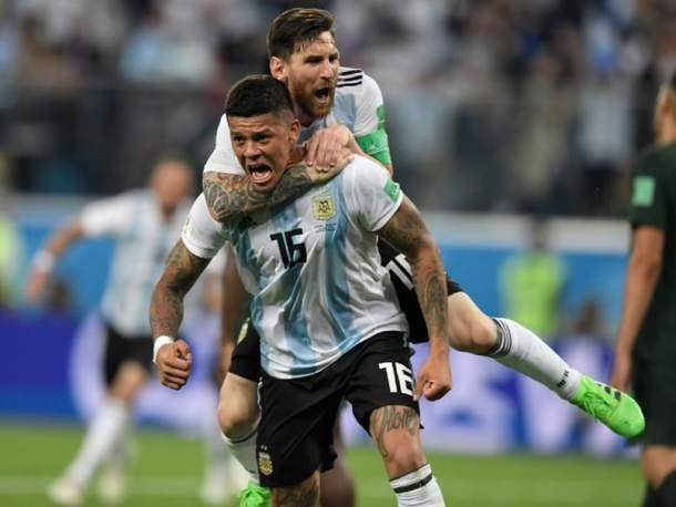 Argentina ke 16 Besar, Hadapi Perancis