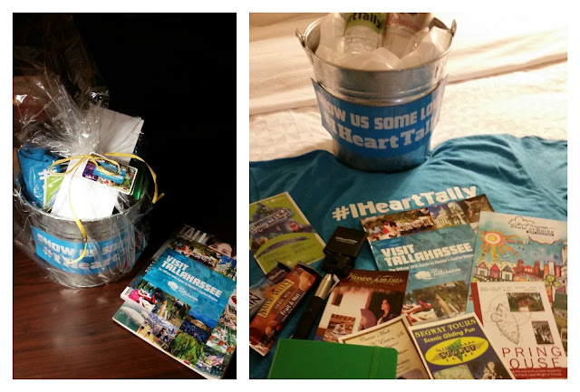 #iHeartTally Culturally Quirky Tour Welcome Basket Tallahassee Florida