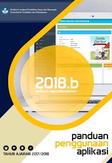 Rilis Panduan Pembaruan Aplikasi Dapodikdasmen Versi 2018.b