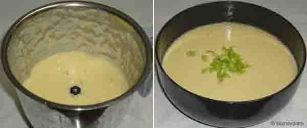 Moong dal and chana dal dosa - step 3