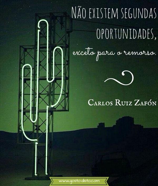 Frase inspiradora de Carlos Ruiz Zafón