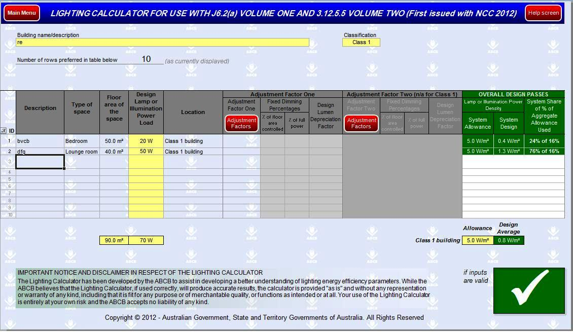 Lighting Design Calculations By Using Excel Spreadsheets Part Two Electrical Knowhow
