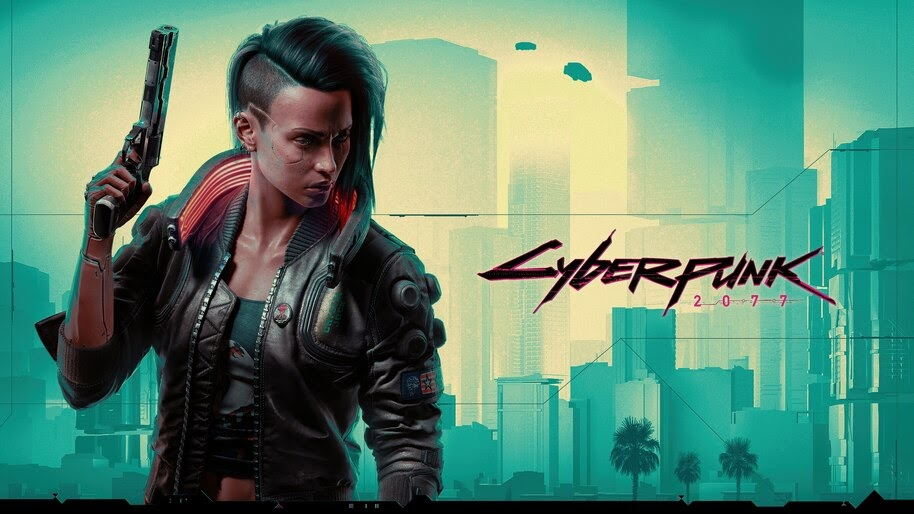 Cyberpunk 2077, Female, V, 4K, #3.1985