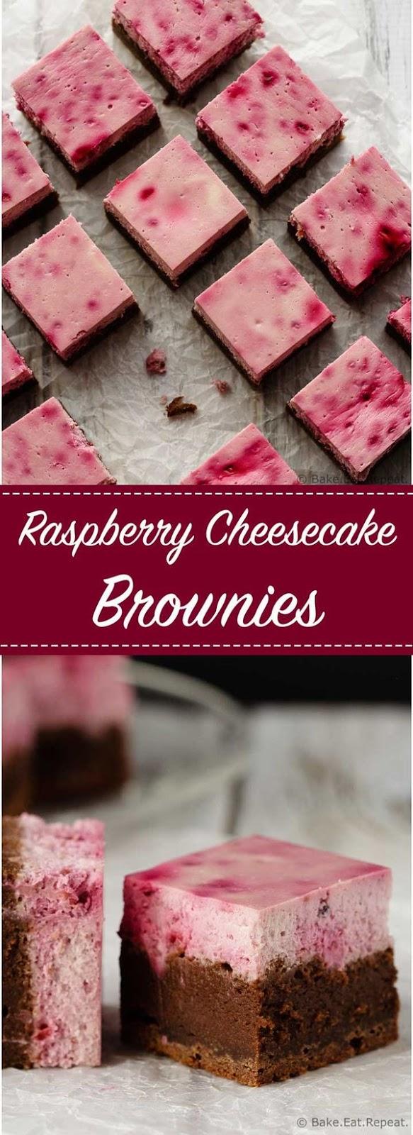 Raspberry Cheesecake Brownies Recipes