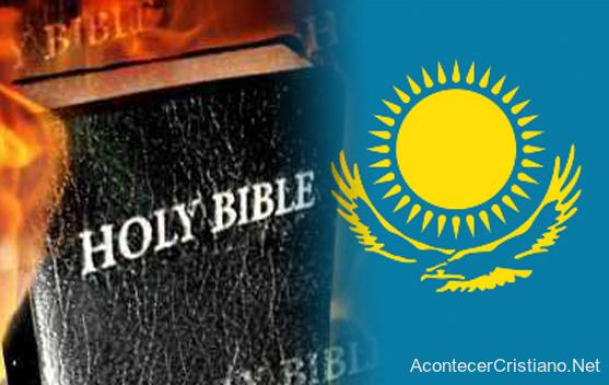Queman Biblias y folletos en Kazajstán