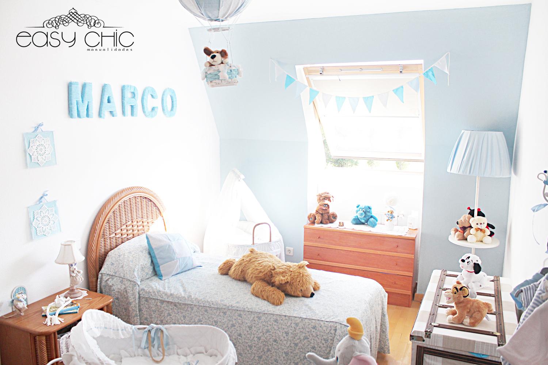 EasyChic Decoracin DIY de cuarto infantil El cuarto de