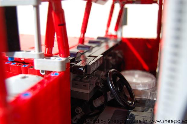 Peterbilt 379 Engine Fan - Year of Clean Water