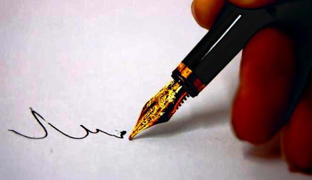 cara penulisan kata ganti