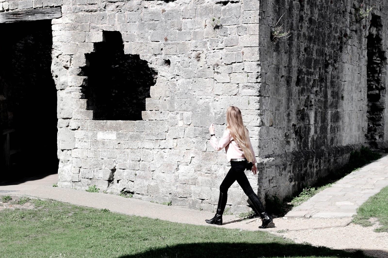 UK Travel Blogger Visit to Portchester Castle
