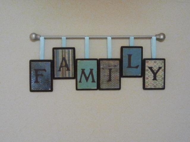 Diy Family Wall Decor