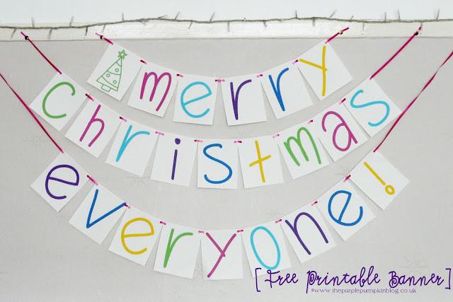 Merry Christmas Everyone! Banner