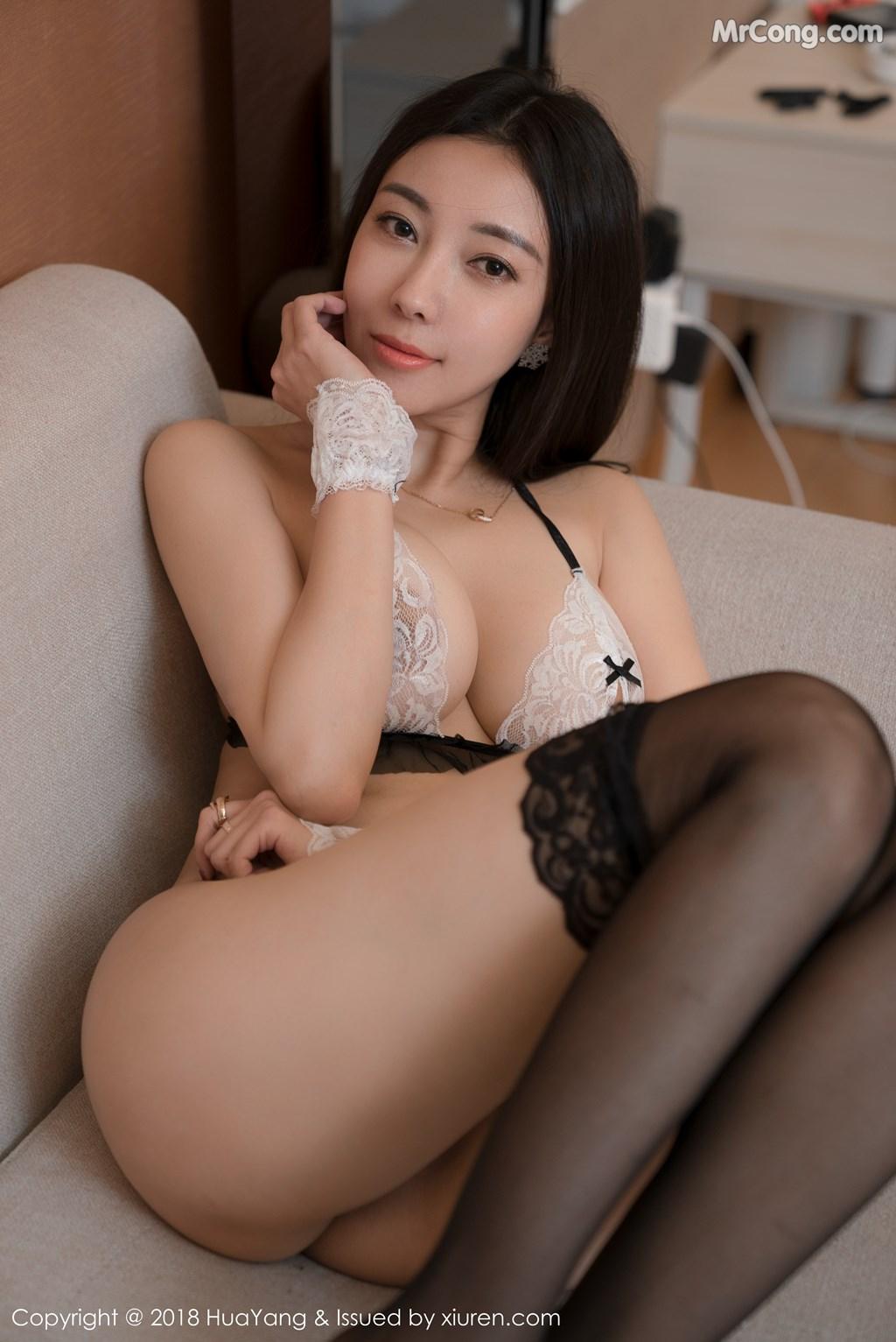 Image HuaYang-2018-01-26-Vol.028-Victoria-Guo-Er-MrCong.com-033 in post HuaYang 2018-01-26 Vol.028: Người mẫu Victoria (果儿) (41 ảnh)