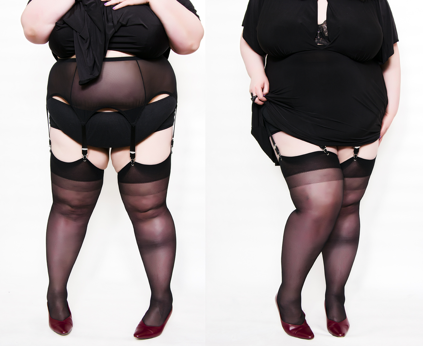 Stockings suspenders photos