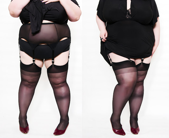 stockings and suspenders how to wear