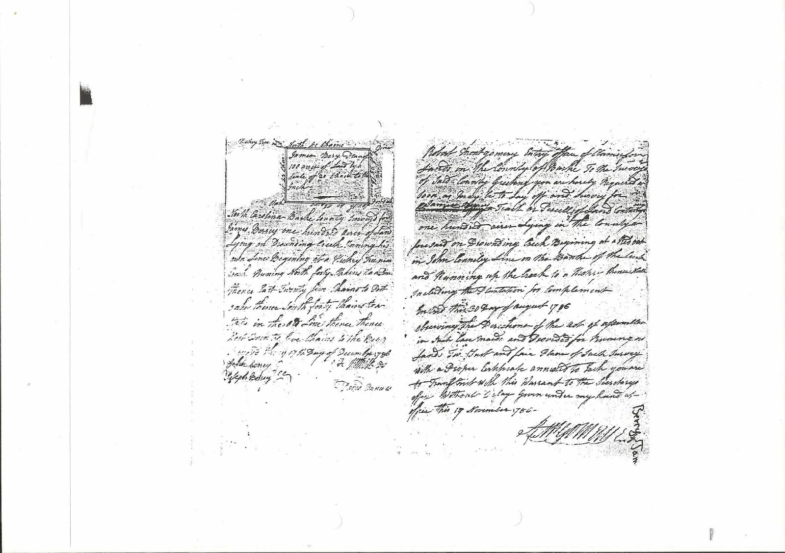 Berry History: John Berry, son of William Berry, Sr. 1774