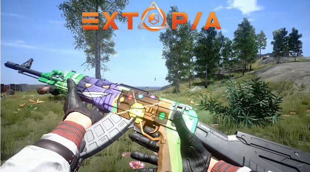 Extopia is a battle royale like the world has not yet seen before Games : Extopia: A New Battle Royale Game for PC (Win CASH Prize on Alpha Test)