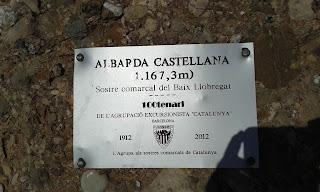 Albarda Castellana (Sostre comarcal Baix Llobregat)