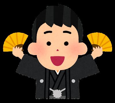 福笑いのイラスト(男性・完成図一例)