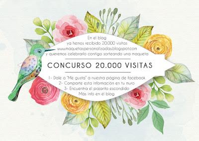 Maquetas personalizadas concurso 20.000 visitas