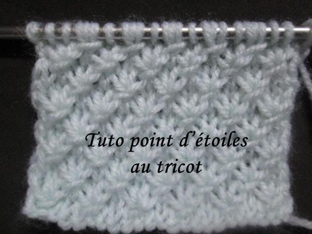 Les tutos de fadinou - Point tricot fantaisie pour echarpe ...