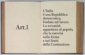 senato.it - La Costituzione - Articolo 1