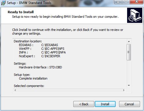 Free BMW Standard Tools 2 12 and installation | eobdtool co