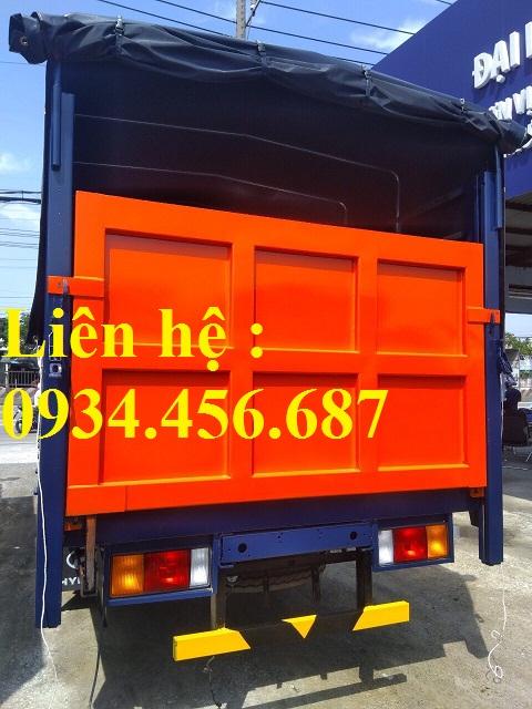 Hyundai HD120sl 8 tấn gắn bửng nâng hạ