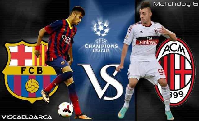 AC Milan Vs Barcelona