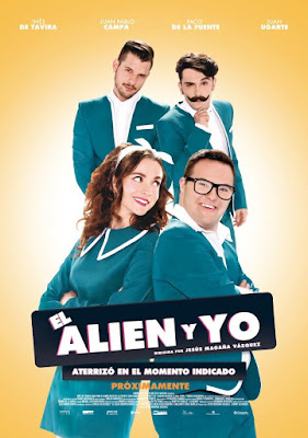 El Alien Y Yo 2016 DVD Custom NTSC Latino