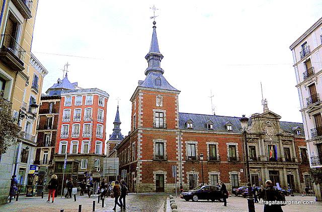 Madri, Palácio de Santa Cruz