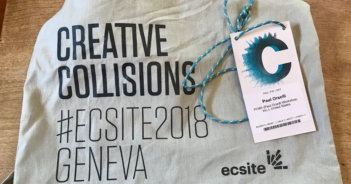 Creative Collisions: Impressions of the 2018 Ecsite Conference