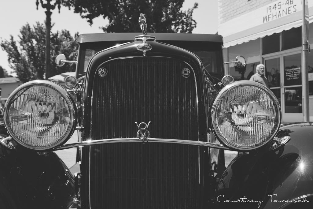 Courtney Tomesch Vista California Car Show