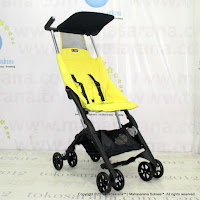 Kereta Bayi Lightweight CocoLatte CL688 Pockit Fluorescent Yellow