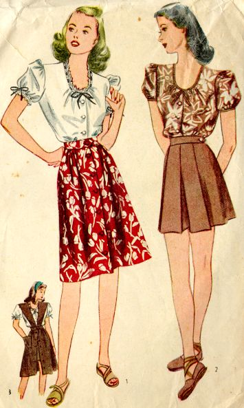 The Real And The Inspired By 1940s Fashion: Weheartevents: Get Inspired By The 1940's Fashion