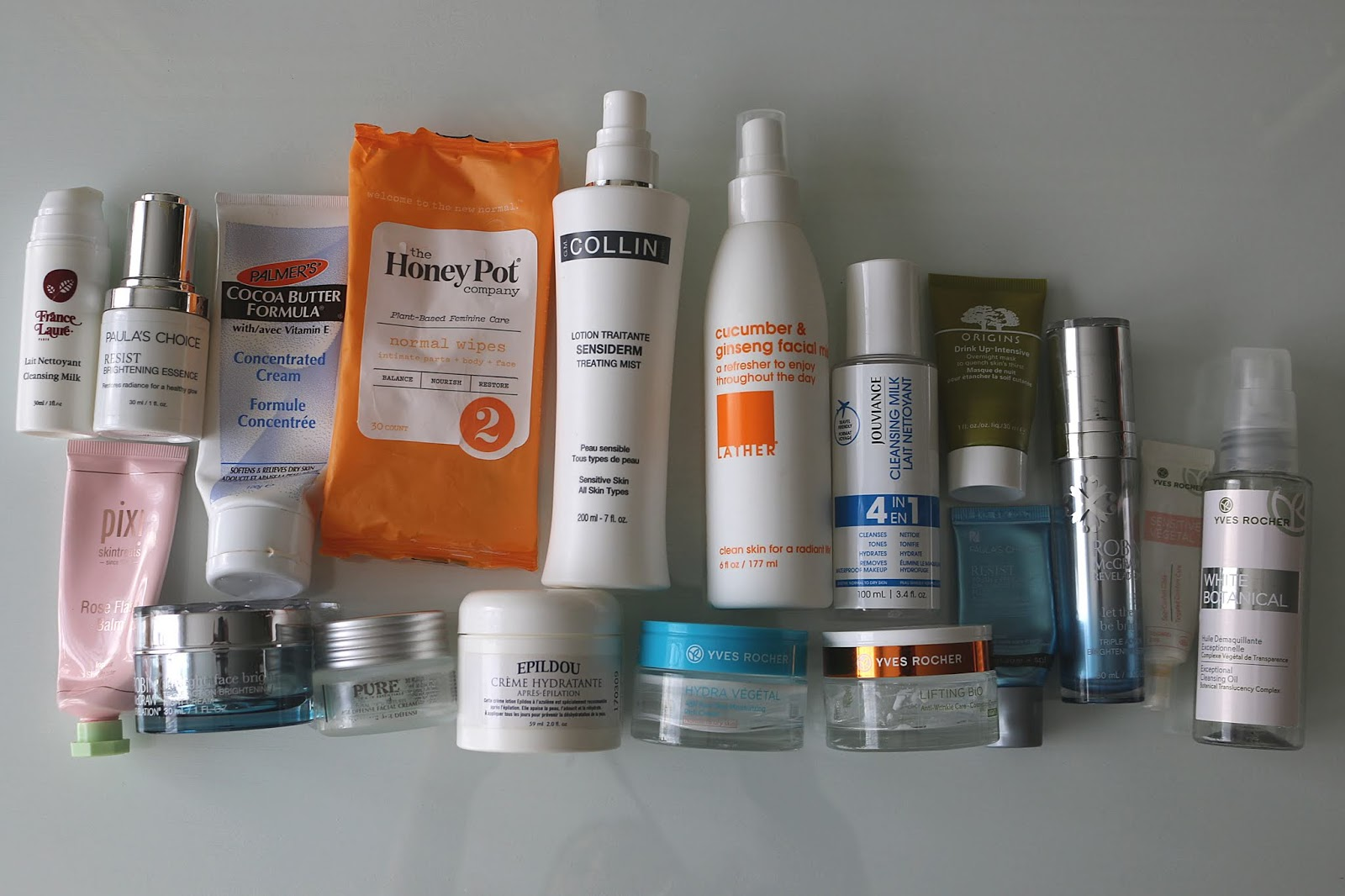 beauty empties skincare