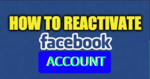 Can A Facebook Account Be Reactivated