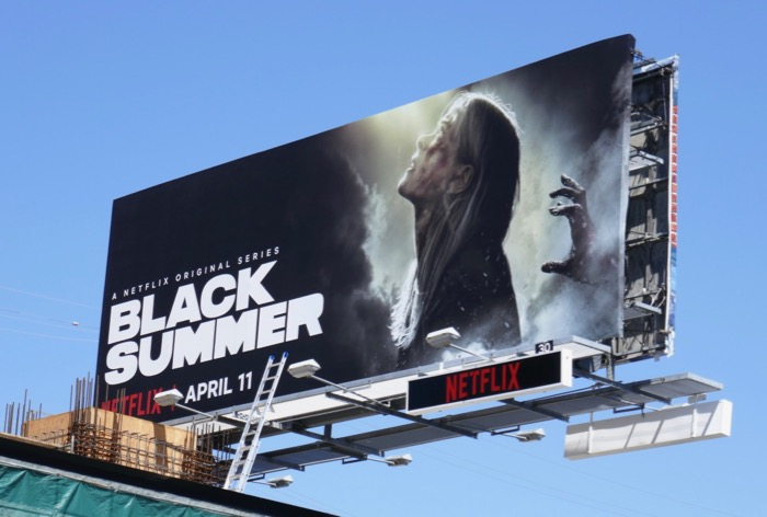Black Summer season 1 billboard
