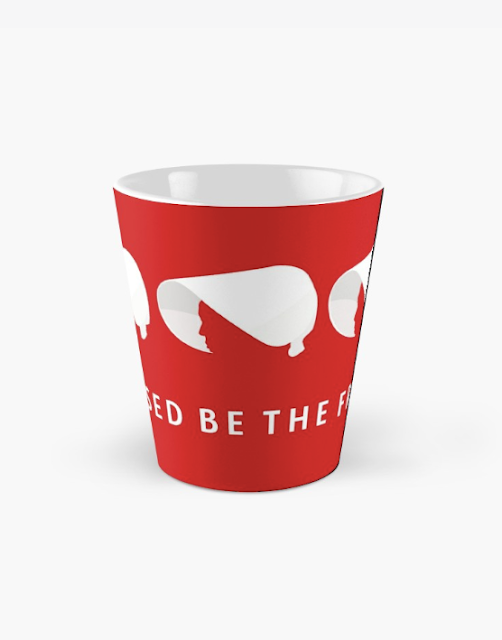 Blessed be the Fruit - handmaid's coffee cup