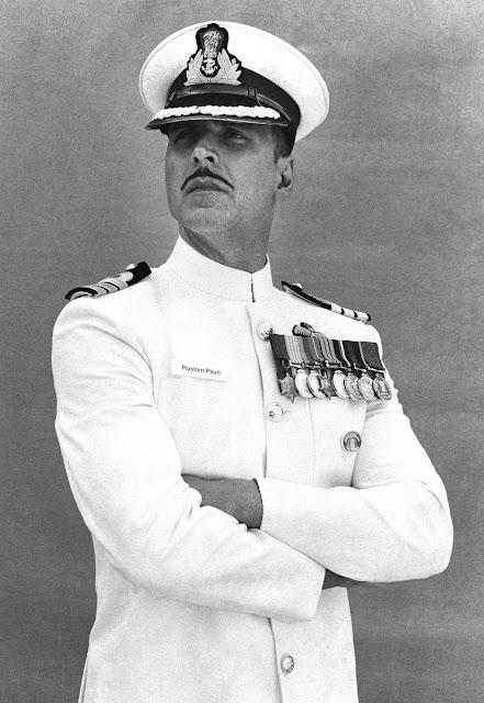 Akshay Kumar from the movie Rustom.
