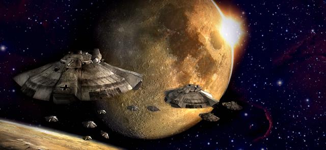 Εκπληκτικό βίντεο δείχνει μαζική αναχώρηση UFO από την Σελήνη
